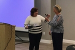 Transferring Leadership, Presentation of the Gavel